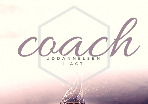 Danmarks eneste coachuddannelse i ACT