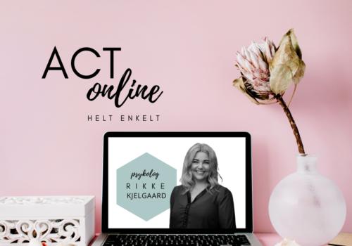 Online kurser I ACT - hvad er ACT
