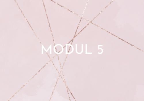 Modul 5 - ACT like a pro